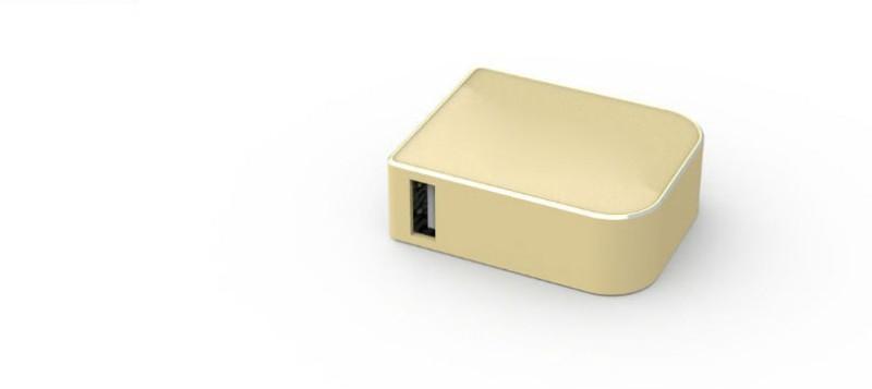 Shrih SHR- 9235 Mini Keychain Style  1800 mAh Power Bank(Gold, Lithium Polymer)