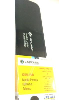 Lapcare LOPBBL5004 Lpb-441 4400 mAh Power Bank(Black)