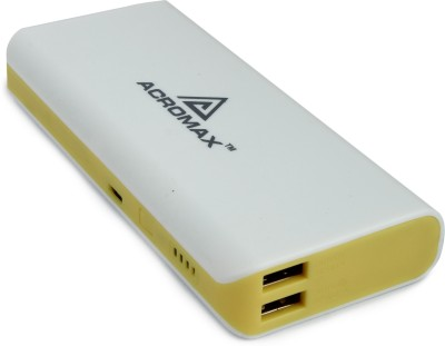 Acromax aMI-130 Super Charger for Smartphones 13000 mAh Power Bank(Yellow)