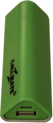 Callmate gecko Grip 2600 mAh Power Bank(Green)