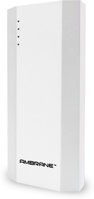 Ambrane P-1111 10000 mAh Power Bank(White)