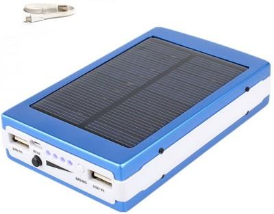 Benison India Light01 Turbo Solar Power bank with 20 LED 13000 mAh Power Bank(Blue)