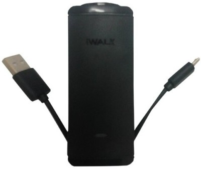 iWalk LB001L-001A USB Portable Power Supply 2600 mAh Power Bank(Black)