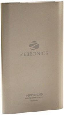 Zebronics ZEB-PG4000 External Power Charger 4000 mAh Power Bank(Golden)
