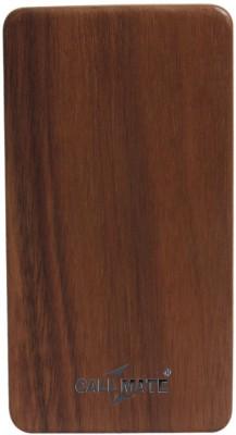Callmate Wooden 802 8000 mAh Power Bank(Brown)