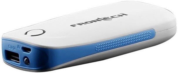 Frontech JIL-2710 Single Port  4000 mAh Power Bank(White, Lithium-ion)