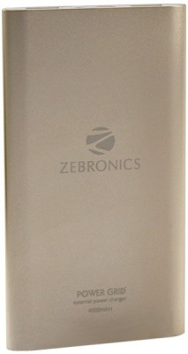 Zebronics Power Bank PG 40 4000 mAh Power Bank(Gold, Lithium-ion)