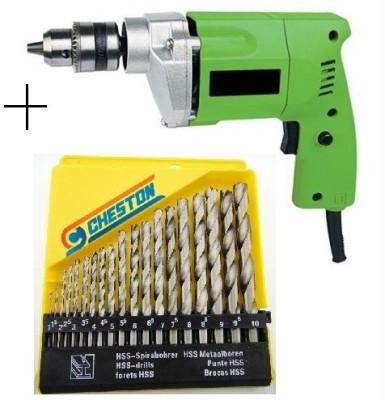 Cheston CHD-B6104 CHD-6104B Pistol Grip Drill(10 mm Chuck Size, 350 W)
