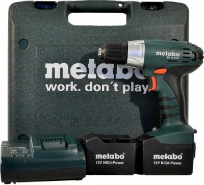CUMI Metabo BS 12 Pistol Grip Drill