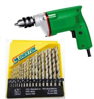 Cheston CHD-HSS10B CHD-10B Angle Drill(100 mm Chuck Size, 350 W)