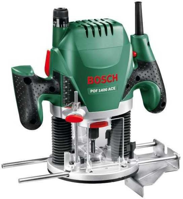 Bosch POF 1400 ACE Router Power Tool Kit(10 Tools)