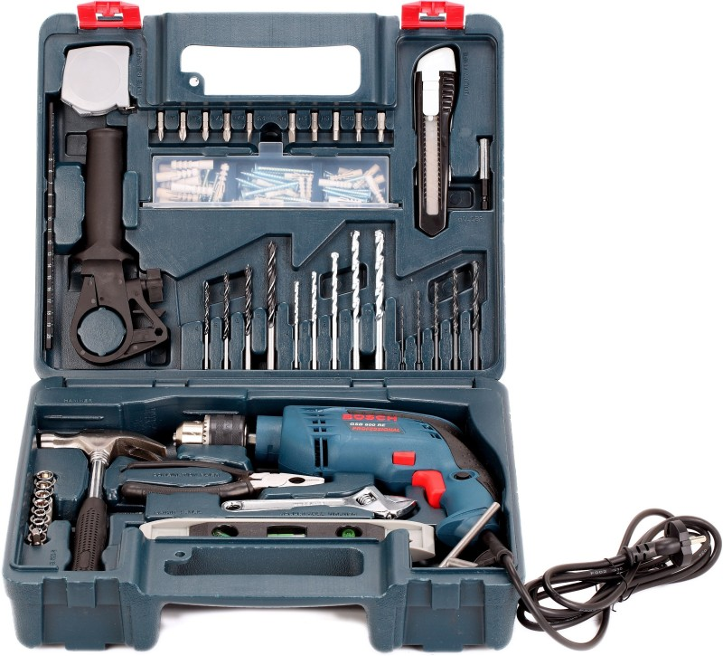 Bosch GSB 600 RE Drill Kit Power & Hand Tool...