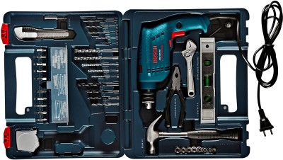 Bosch GSB 500 RE Home Tool Kit Power & Hand Tool Kit(92 Tools)