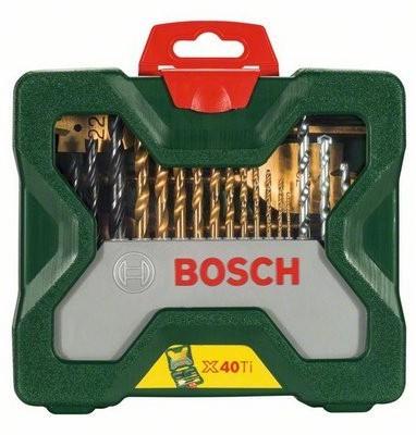 Bosch 2607 019 600 X-line Titanium Set (40 Tools)