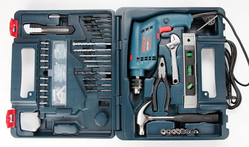 Bosch GSB 10 RE Kit Power & Hand Tool Kit(100...