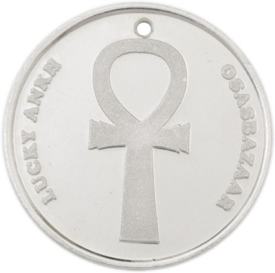 Osasbazaar Ankh Coin - BIS Hallmarked with 99.9% Purity - 5 Gram Silver Currency