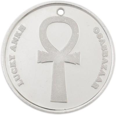 Osasbazaar Ankh Coin - BIS Hallmarked with 99.9% Purity - 5 Gram Silver Lucky Charm Coin