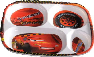 Eternia Cars 4-Section Kids Plate
