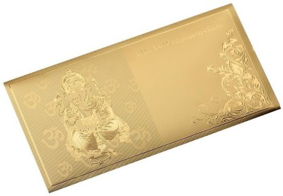 Jewel Fuel 5pcs Ganesha Envelope Gold Gift