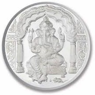 Chahat Jewellers 5grams S995 Ganesh Coin Silver Coin