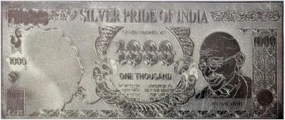 Techno Max Indian 1000 Silver Silver Currency Note