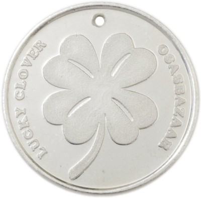 Osasbazaar Four Leaf Clover - BIS Hallmarked with 99.9% Purity - 5 Gram Silver Lucky Charm