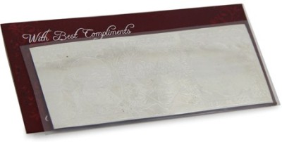 Giftsbymeeta Best Compliment Silver Note
