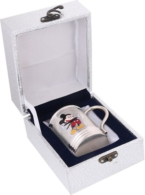 Osasbazaar Mickey Mouse Cup - Purity Certified Silver Baby Coffee and Milk Mug