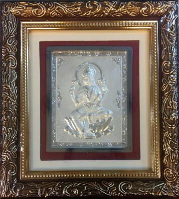 Chahat Jewellers Silver Lakshmi Frame Silver Frame