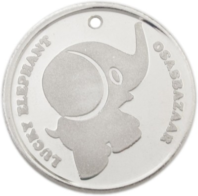 Osasbazaar Elephant - BIS Hallmarked with 99.9% Purity - 5 Gram Silver Currency