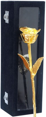 Giftz 11 Inch Natural Gold Plated Rose