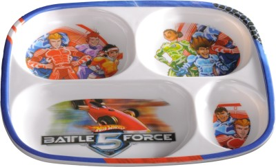 Eternia Bf5-4-Section Plate Kids Plate