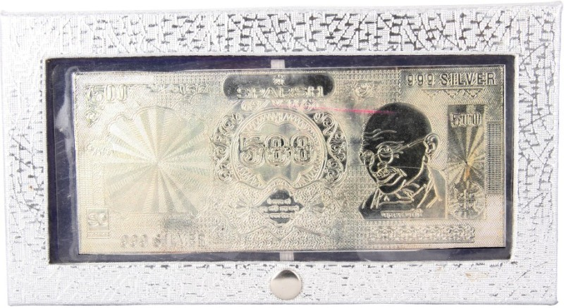 Siri Creations 999 Pure Currancy Note Polish Envelope Silver Currency