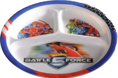 Eternia Bf5-3-Section Plate Kids Plate
