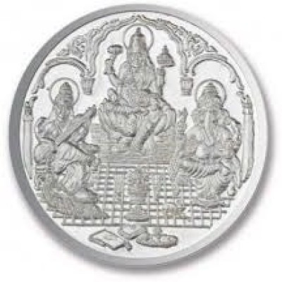 Chahat Jewellers 20gms S995 Trimurti Coin Silver Jewellery