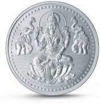 Chahat Jewellers 10gms Lakshmi Silver Jewellery, Coin