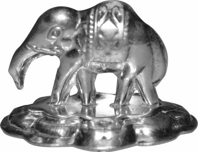Kataria Jewellers Elephant for Religious Pooja in 92.5 BIS Hallmarked SILVER IDOL