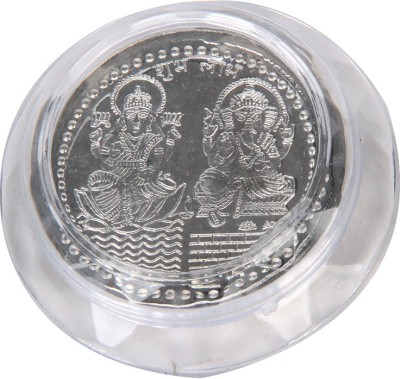 Jewel Fuel German Silver Coin of Lakshmi- Ganesha Silver Utencil