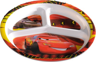 Eternia Cars 3-Section Kids Plate