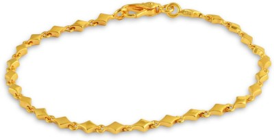 P.N.Gadgil Jewellers Stylish Side Yellow Gold 22kt Bracelet(Yellow Gold Plated) at flipkart