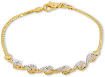 P.N.Gadgil Jewellers Smiling Heart Yellow Gold 22kt Bracelet(Yellow Gold Plated) at flipkart