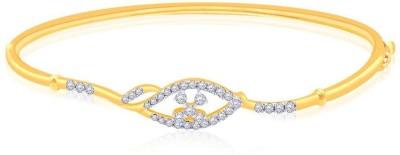 Malabar Gold and Diamonds KGBGIB36574 Yellow Gold 18kt Diamond Bangle at flipkart