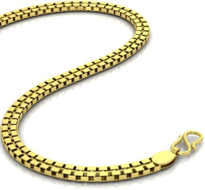 Avsar Shiva Rope Chain Yellow Gold Precious Chain(18kt Not Plated Plated) at flipkart
