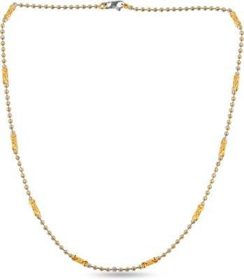 ZKD Jewels ZKDC021 Bead Chain Precious Chain(Yellow Gold 22kt NA)