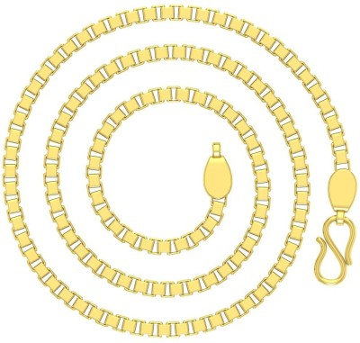Avsar Box Rope Chain Yellow Gold Precious Chain(18kt Not Plated Plated) at flipkart
