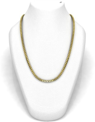 Avsar 16BOX18K7GM24IN Rope Chain Precious Chain(Yellow Gold 18kt NA)