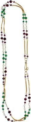 JewelMantra GCC18/512470 Bead Chain Precious Chain(Yellow Gold 18kt NA)