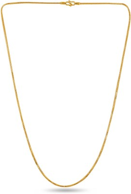 ZKD Jewels ZKDC029 Hammered Chain Precious Chain(Yellow Gold 22kt NA)