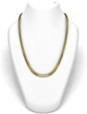 Avsar 18SHIVA18K6GM24IN Rope Chain Precious Chain(Yellow Gold 18kt NA)