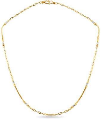 ZKD Jewels ZKDC025 Cable Chain Precious Chain(Yellow Gold 22kt NA)